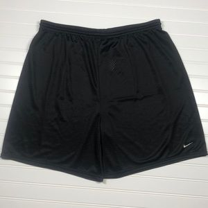 Nike Men's Black Mesh Shorts Size Large